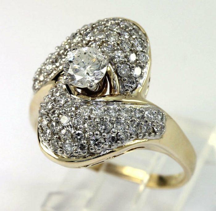 Diamond cocktail ring-adina-jewelers