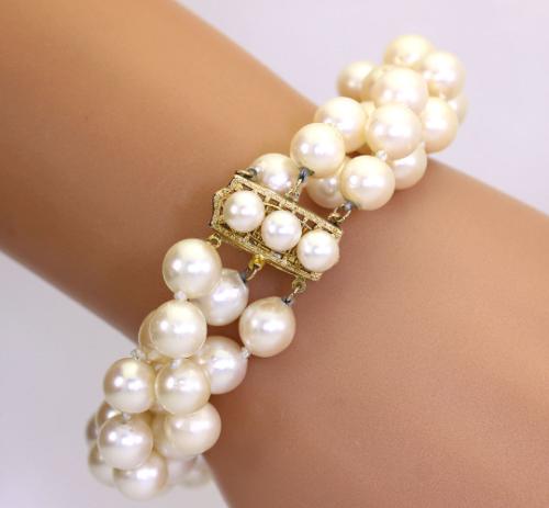 buy-pearl-triple-strand-bracelet-adina-jewelers